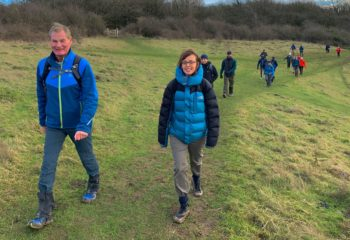 South Downs Way Hike Amberley to Worthing via Chanctonbury and Cissbury Rings
