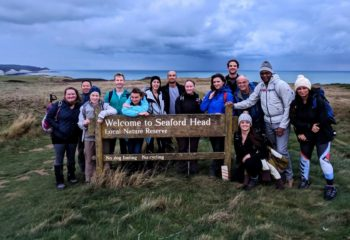 Moonlight Hike: Seaford Head, Seven Sisters and Beachyhead after sunset